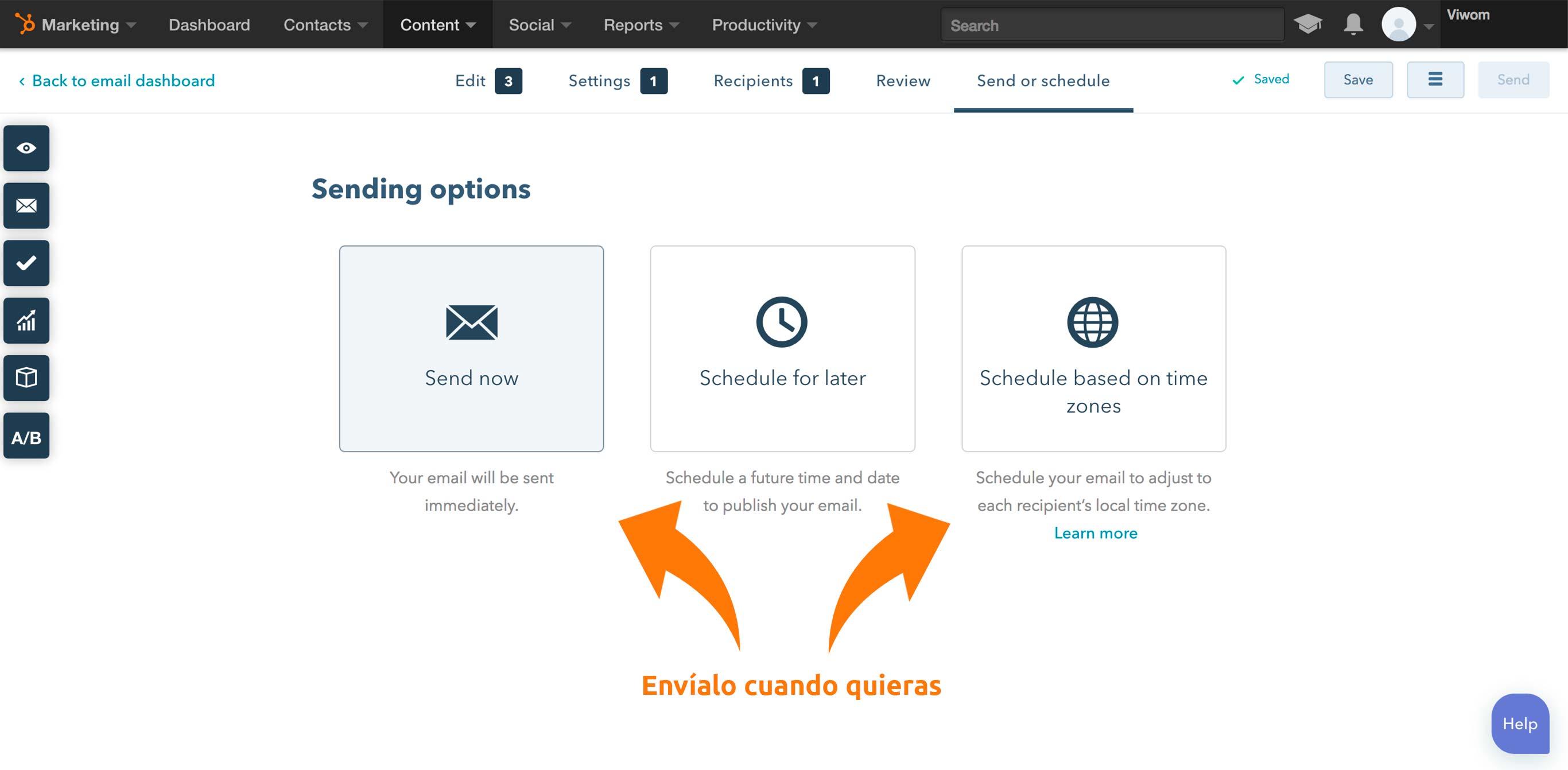 Envía tu campaña de email marketing con vídeo